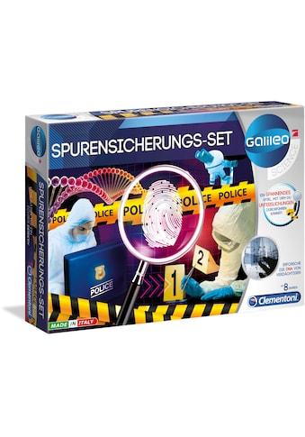 Clementoni® Experimentierkasten »Galileo Spurensicherungs-Set«, Made in Europe kaufen