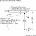 Constructa Elektro-Herd-Set »CX5HS604«, mit High-Speed-Kochzonen