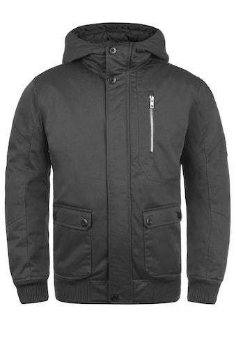 Solid Kurzjacke »Wallace«, warme Jacke mit Stehkragen kaufen