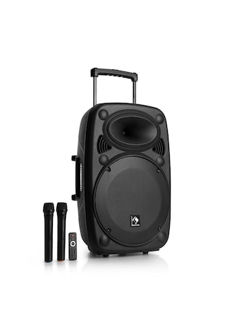 Auna Mobile PA Anlage Lautsprecher Box Subwoofer Trolley Bluetooth kaufen