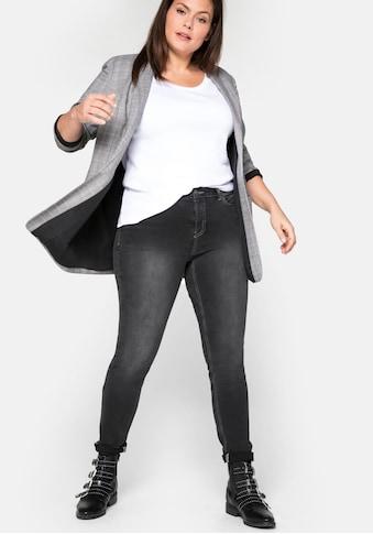 Sheego Stretch-Jeans, Super elastisches Power-Stretch-Material kaufen