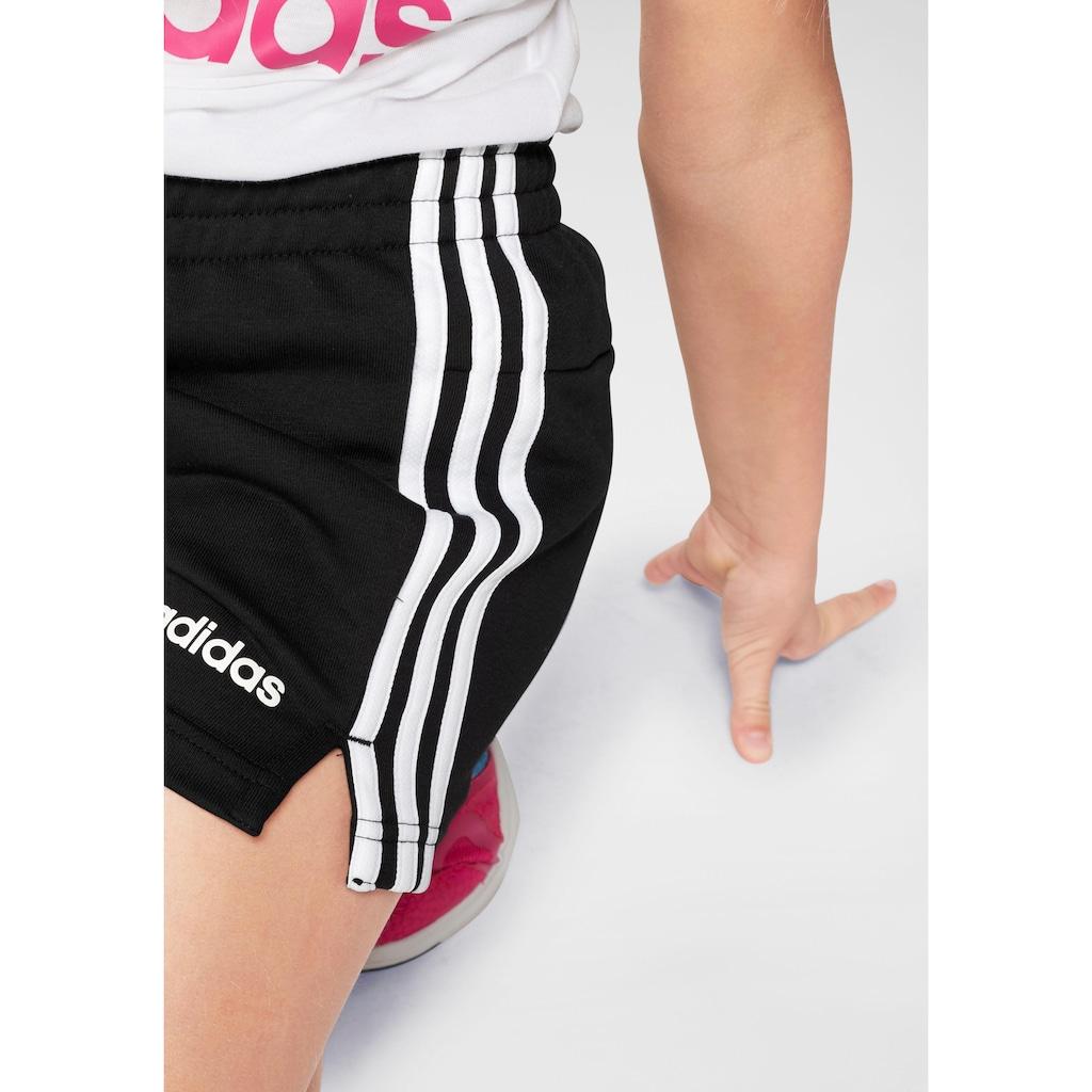 adidas Performance Shorts »ESSENTIALS 3-STREIFEN«