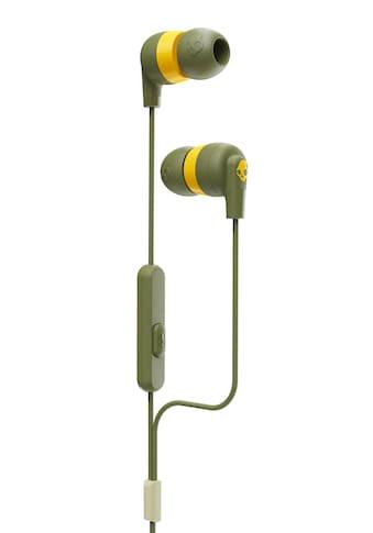 Skullcandy Headset »INKD+ IN - EAR W/MIC 1 MOSS/OLIVE/YELLOW« kaufen