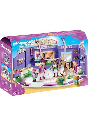 "Playmobil® Konstruktions - Spielset ""Reitsportgeschäft (9401), City Life"", Kunststoff kaufen"