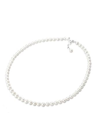 Elli Perlenkette »Muschelkernperlen Rund Klassisch 925 Silber« kaufen