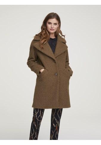 Mantel im Teddy - Look kaufen