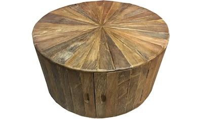 SIT Couchtisch »Romanteaka«, recyceltes Teakholz, Shabby Chic, Vintage kaufen