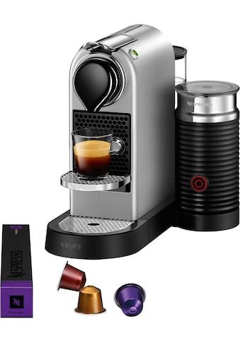 Nespresso Kapselmaschine »XN761B New CitiZ & milk«, mit Aeroccino Milchaufschäumer, 19 bar kaufen