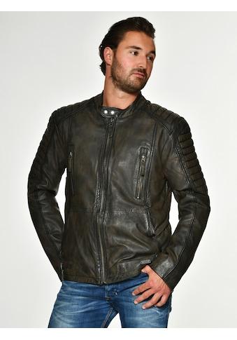 MUSTANG Lederjacke mit Brusttaschen kaufen
