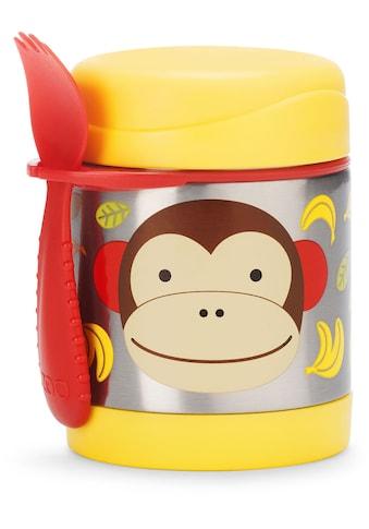 Skip Hop Thermobehälter »Zoo Edelstahl Warmhaltebehälter Affe«, (2 tlg.), mit... kaufen