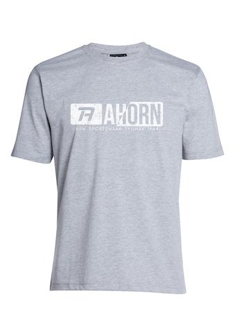 AHORN SPORTSWEAR T-Shirt mit coolem Frontprint kaufen