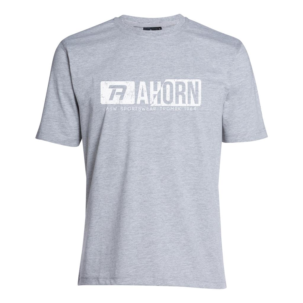 AHORN SPORTSWEAR T-Shirt mit coolem Frontprint