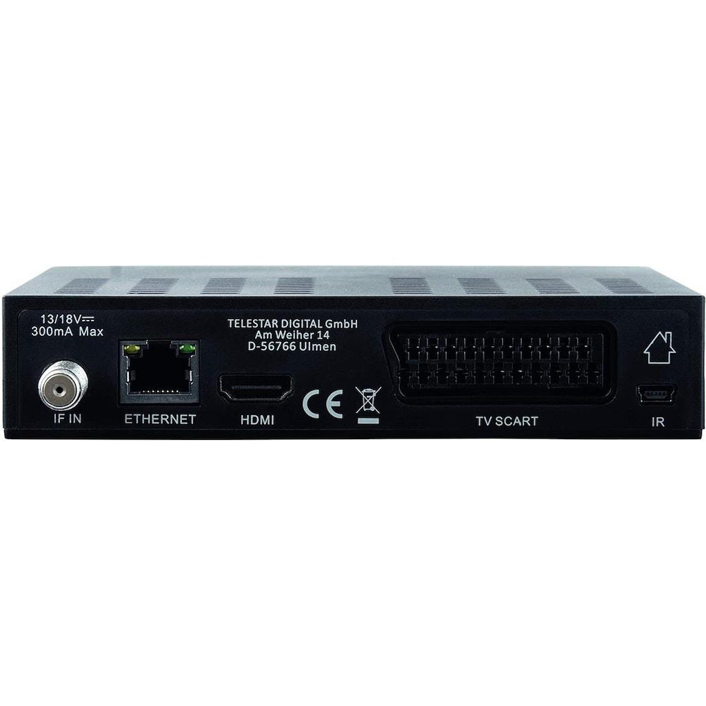 IMPERIAL by TELESTAR SAT-Receiver »HD 6i kompakt«, (DVB-S2, Alexa Voice, Sat to IP, PVR Ready)