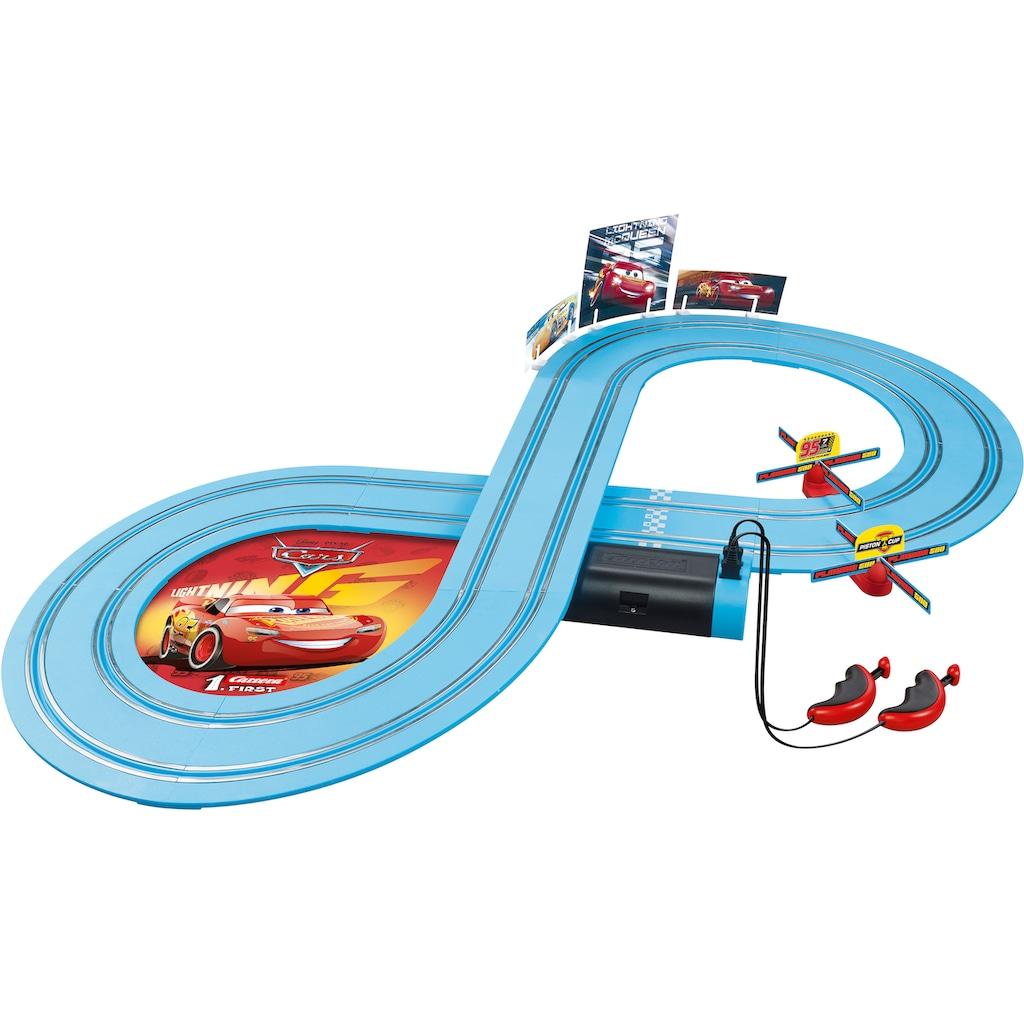 Carrera® Autorennbahn »Carrera® First - Disney·Pixar Cars - Race of Friends«, (Set)