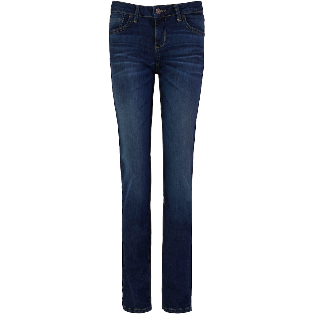 LTB Slim-fit-Jeans »ASPEN Y«, mit toller Backpocket-Stickerei