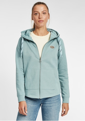 OXMO Kapuzensweatjacke »Amalia«, Sweatshirtjacke mit Kapuze kaufen