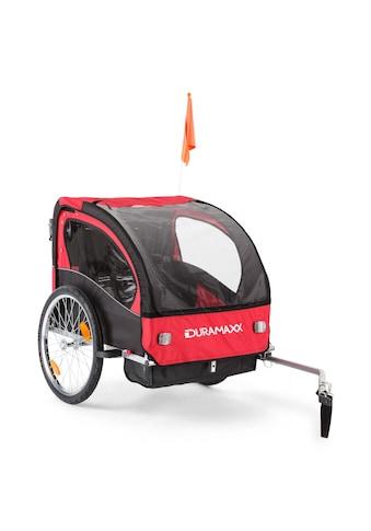 Duramaxx Kinderfahrradanhänger Babytrailer 2-Sitzer max. 20 kg kaufen