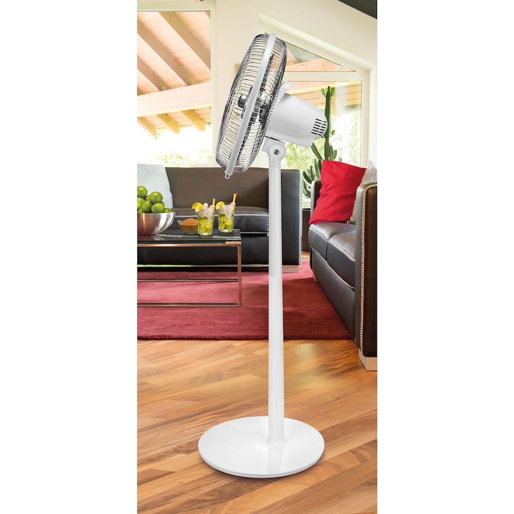 Unold Standventilator »Silverline White 86820«, 40 cm Durchmesser