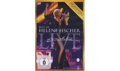 Musik - CD Best Of Live - So Wie Ich / Fischer,Helene, (3 DVD + CD) kaufen