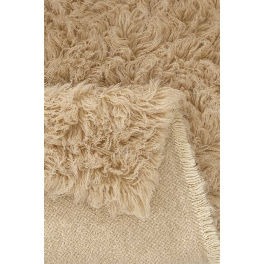 Böing Carpet Wollteppich »Flokati 1500 g«, rechteckig, 60 mm Höhe, reine Wolle, handgearbeitet, Wohnzimmer