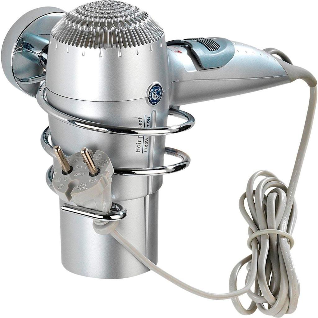 WENKO Haartrocknerhalter »Capri«, Vacuum-Loc Befestigung ohne bohren