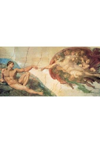 DELAVITA Kunstdruck »MICHELANGELO / Erschaffung Adams«, (1 St.) kaufen