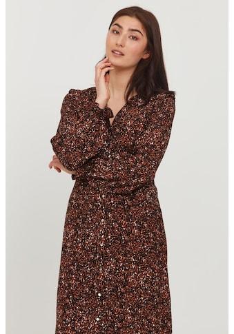 b.young Blusenkleid »BYFLOURI NATURE DRESS - 20810164«, luftiges Print-Kleid mit... kaufen