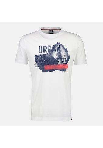 LERROS T-Shirt »Urban Greenery«, mit Brustprint kaufen