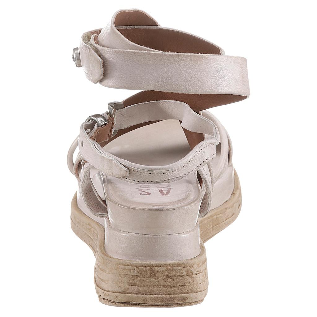 A.S.98 Sandalette »LAGOS 2.0«, mit verstellbarer Schnalle