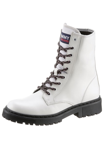 TOMMY JEANS Schnürboots »DOUBLE DETAIL LACE UP BOOT« kaufen