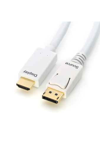 CSL Video-Kabel »mehrfach geschirmt | verschiedene Längen«, DisplayPort-HDMI, 300 cm,... kaufen