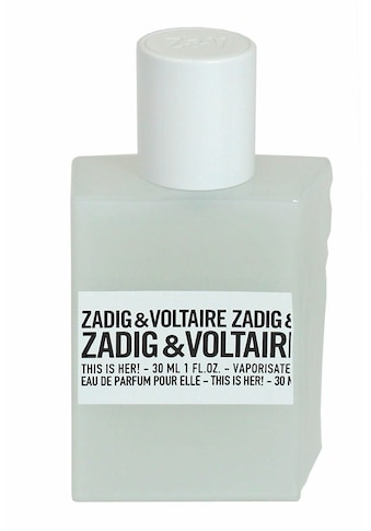 ZADIG & VOLTAIRE Eau de Parfum »This is Her!« kaufen