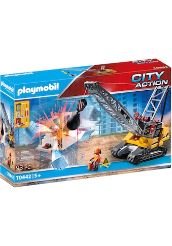 "Playmobil® Konstruktions - Spielset ""Seilbagger mit Bauteil (70442), City Action"" kaufen"