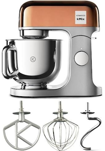 KENWOOD Küchenmaschine KMX760GD kMix Premium Edition Rose Gold mit 3 - teiligem Pâtisserie - Set, 1000 Watt, Schüssel 5 Liter kaufen