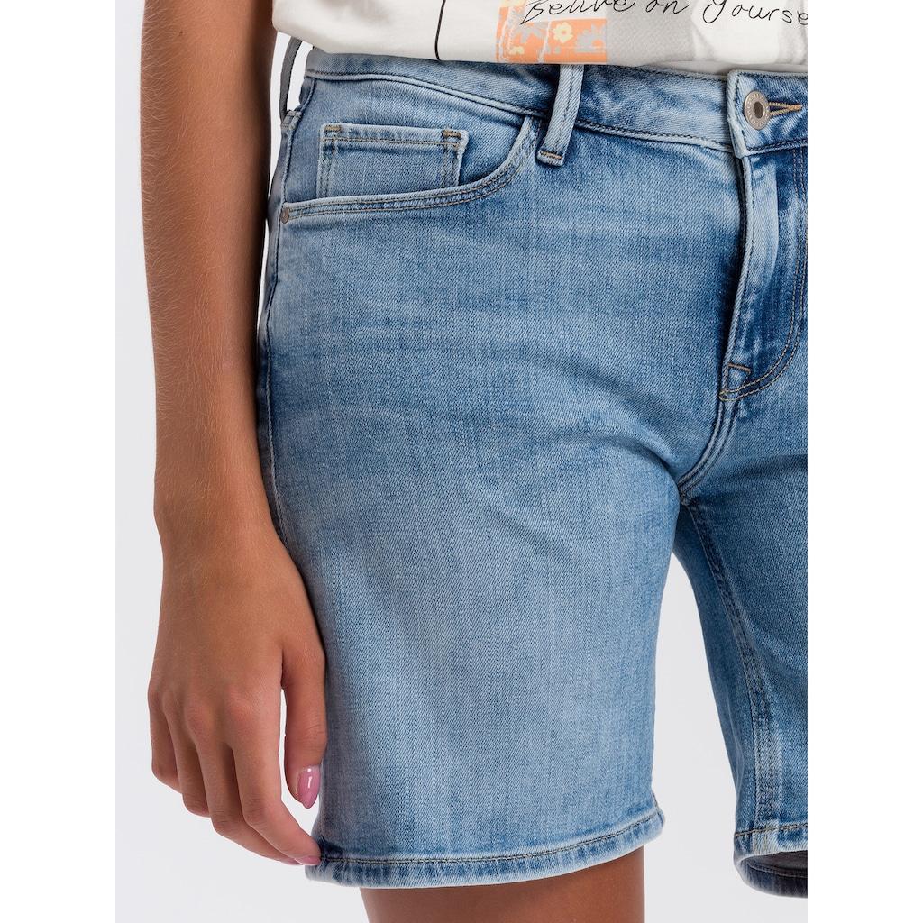 Cross Jeans® Shorts »Zena«, Weiche Stretch-Denim-Qualität