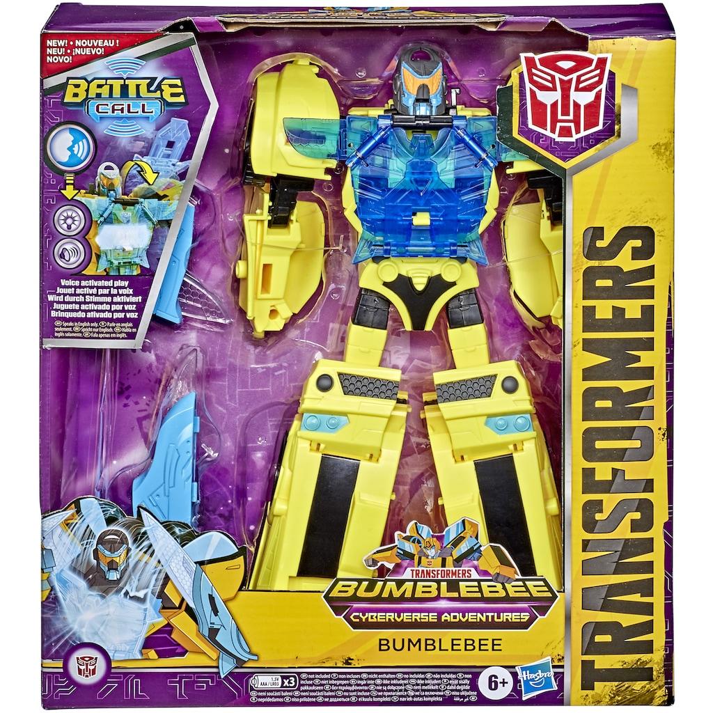 Hasbro Actionfigur »Transformers Officer-Klasse Bumblebee«