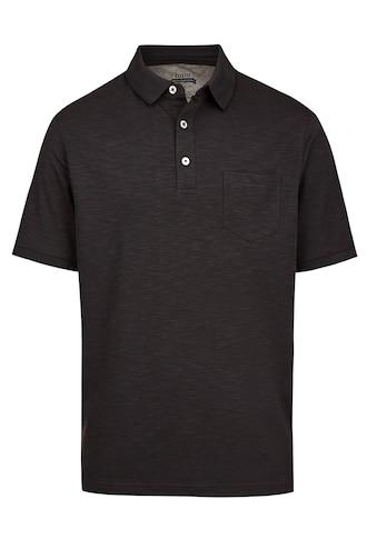 Hajo Softknit-Poloshirt mit tollem Farbeffekt kaufen