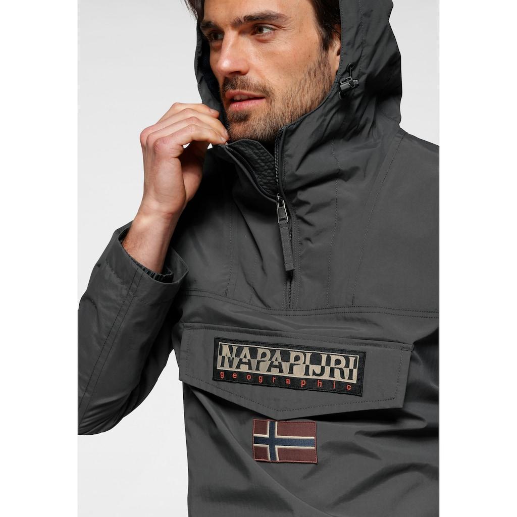 Napapijri Windbreaker »RAINFOREST M SUM«, mit verschließbarer Brusttasche