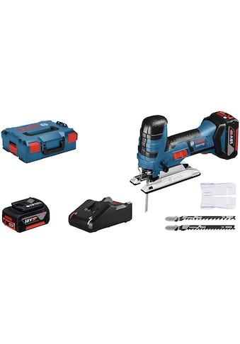 Bosch Professional Stichsäge »GST 18V-LI S«, 18 V, mit Akku und Ladegerät kaufen