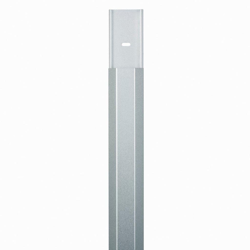 Hama Alu-Kabelkanal, eckig, 110/5/2,6 cm, Silber