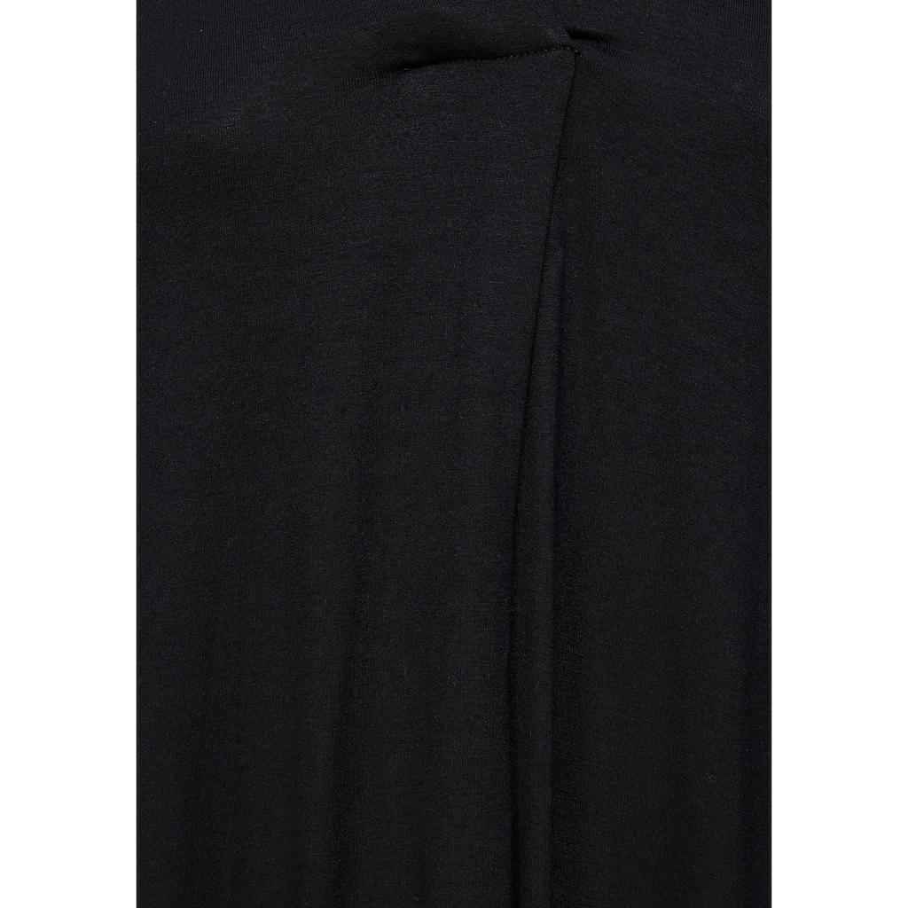 Tamaris Jerseykleid, im angesagten Kaftan-Stil