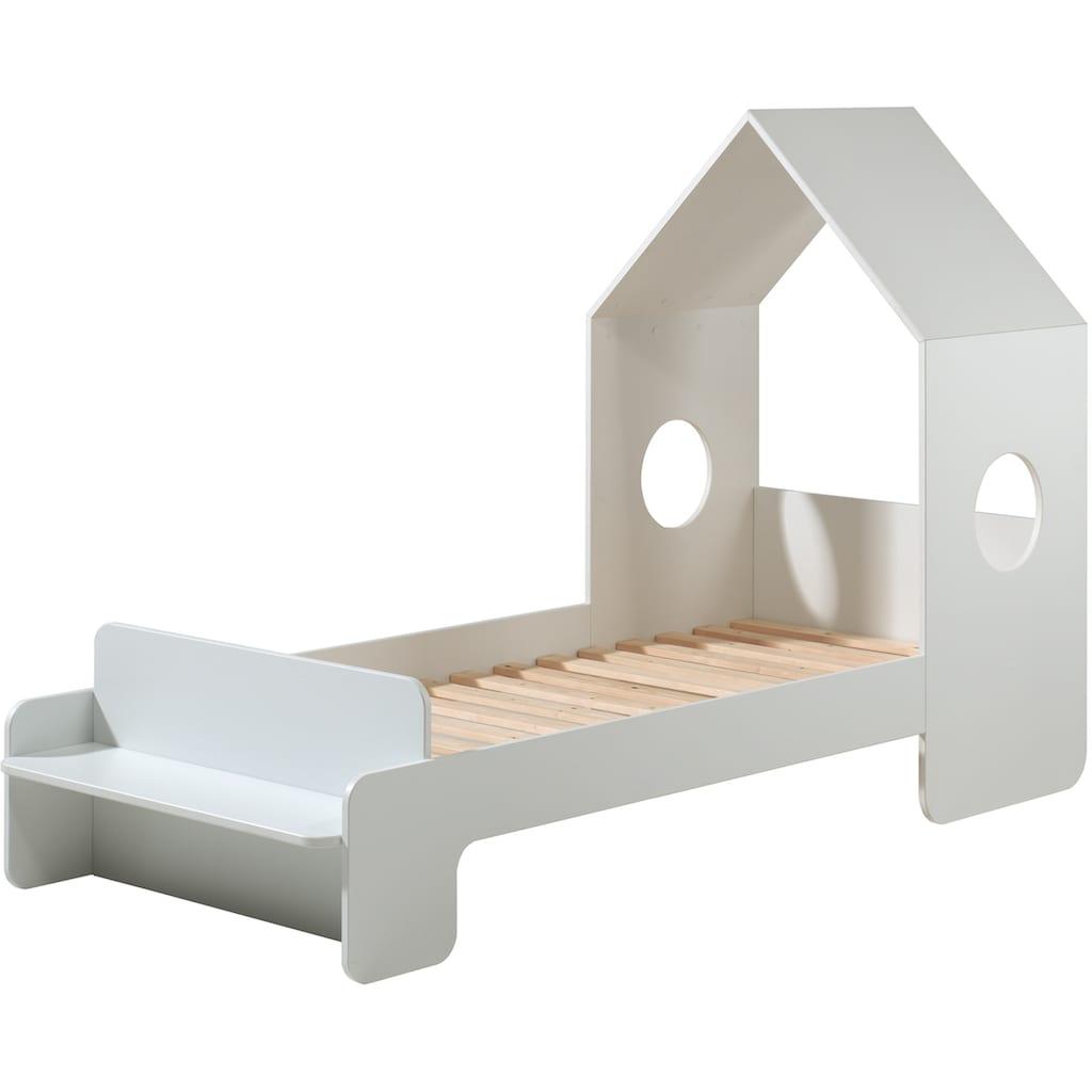 Vipack Hausbett »Casami«, mit Rollrost