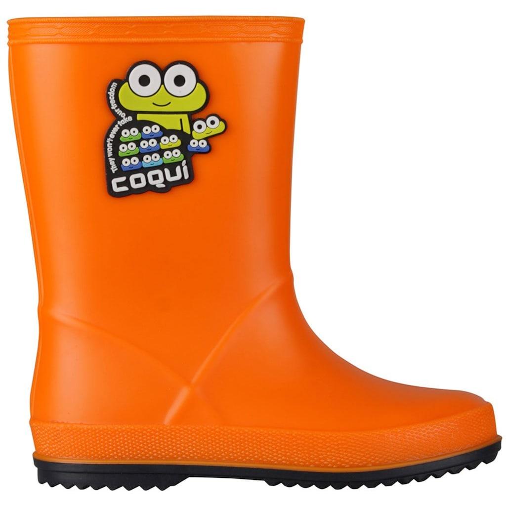 Coqui Gummistiefel mit niedlichem Froschdesign