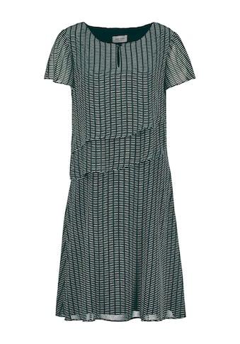 GERRY WEBER Kleid Gewebe »Kleid mit Volants« kaufen