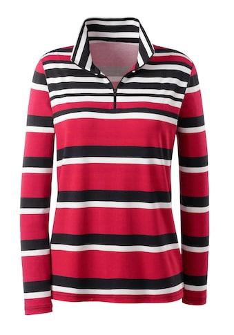 Casual Looks Shirt im Streifendessin kaufen