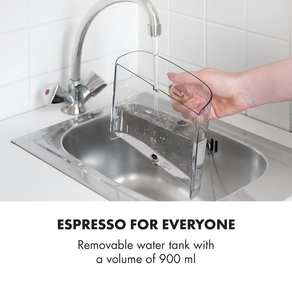 Klarstein Espressomaschine 20Bar 1575W 900ml