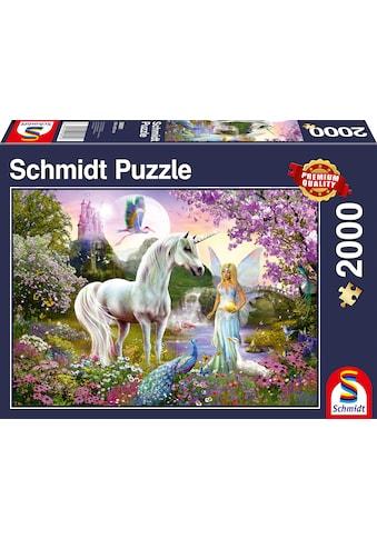 """Schmidt Spiele Puzzle """"Fee und Einhorn"""" kaufen"""