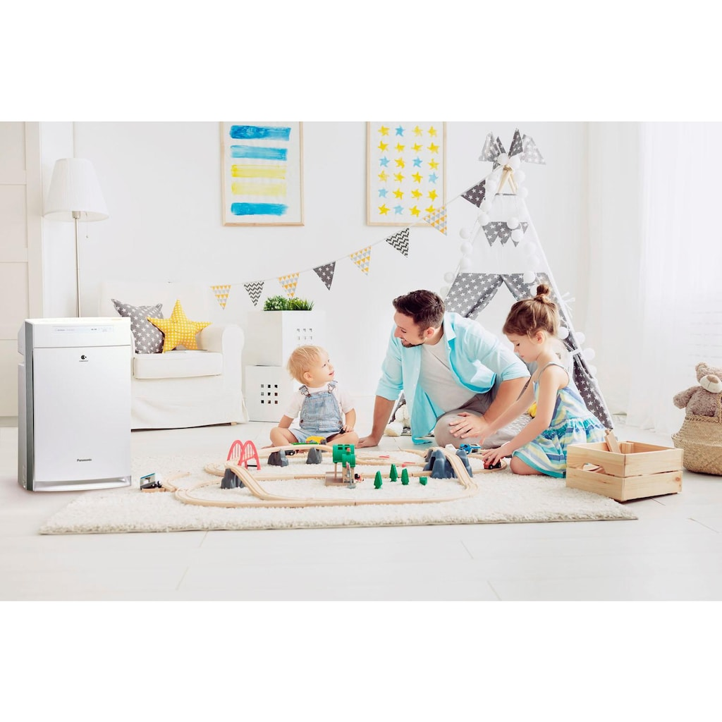 Panasonic Kombigerät Luftbefeuchter und -reiniger »F-VXR50G-W«, für 40 m² Räume