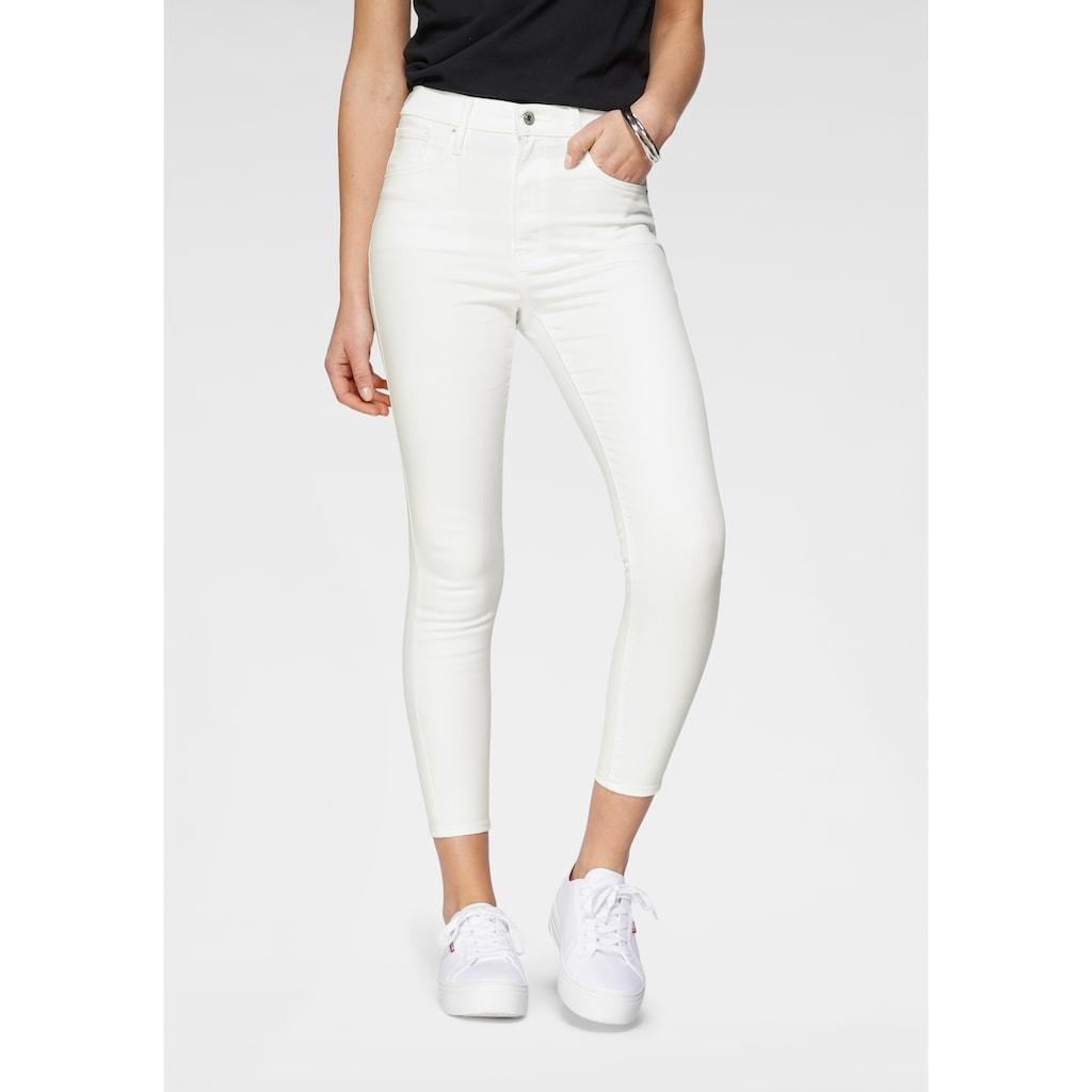 Levi's® Ankle-Jeans »Mile High Ankle Skinny«, mit sehr hoher Leibhöhe