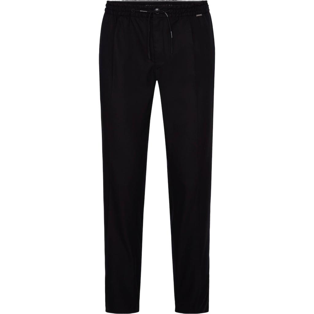 Calvin Klein Stoffhose »TAPERED ELASTIC DRAWSTRING PANT«